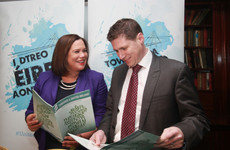 Matt Carthy says he has enough nominations ... but he won't challenge Michelle O'Neill