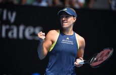 Kerber and Halep dominant as Chung dreams on