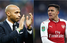 Sanchez denies Henry told him to leave Arsenal