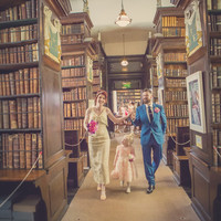 Here's what it's like to get married in Marsh's Library in Dublin
