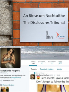 Porn bots briefly took over the Disclosures Tribunal on Twitter this week