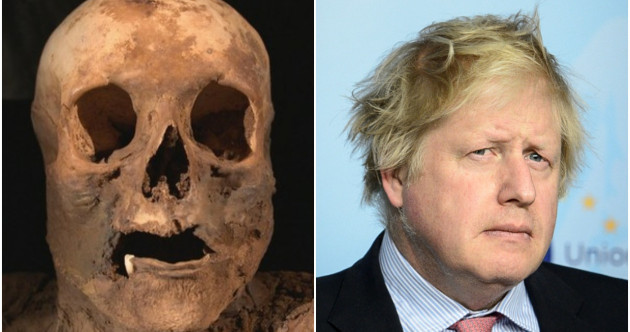 Boris Johnson is directly related to this mummified Swiss woman
