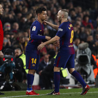 Coutinho makes debut as Barcelona through to Cup semis