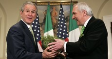 How did the White House shamrock event first start?