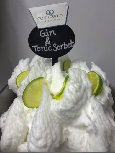 An ice-cream shop in Sligo has won 'Best New Flavour In The World' for its gin-flavour sorbet