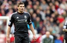 'It's just not good enough' - Gerrard