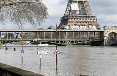 Paris on high alert as the swollen river Seine creeps higher and higher