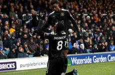 Iheanacho and debutant Diabate at the double as Leicester march on