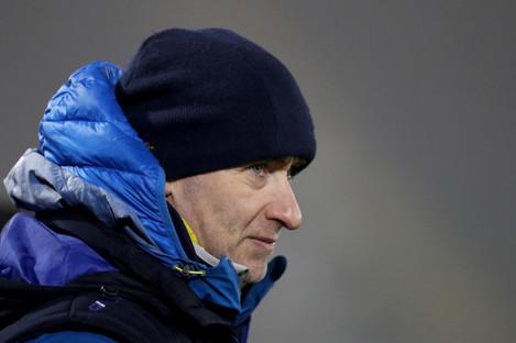 Cavan manager Mattie McGleenan.