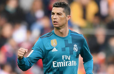 Ronaldo on the double from the penalty spot as Madrid put four goals past Valencia