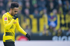 Aubameyang booed by Dortmund fans as striker holds out for Arsenal move