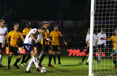 Kane spares Tottenham's blushes after Amond and Newport dared to dream
