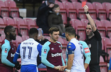 'It was in the heat of the moment': West Ham defender apologises for spitting