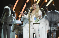 Everyone's talking about Kesha's powerful, emotional performance at the Grammys last night