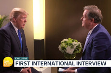 The EU is unfair, apologies for far-right tweets and he's not a feminist - Trump talks to Piers Morgan