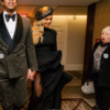 This woman's face when she bumped into Beyoncé in a hotel is amazing