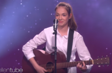 A 12-year-old busker from Cork finally appeared on the Ellen Degeneres Show after turning them down last year