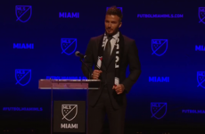 David Beckham has finally got his MLS franchise in Miami