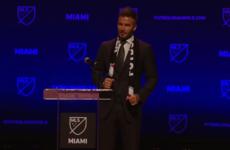 David Beckham has finally got his MLS franchise in Miami