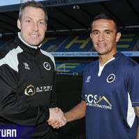 Australian legend Tim Cahill has re-signed for Millwall