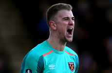Joe Hart looks increasingly in danger of suffering World Cup disappointment