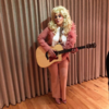 Adele randomly dressed up as Dolly Parton... because why not?