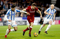 As it happened: Huddersfield v Liverpool, Premier League