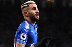 Mahrez reportedly hands in transfer request as Man City bid in excess of €57m