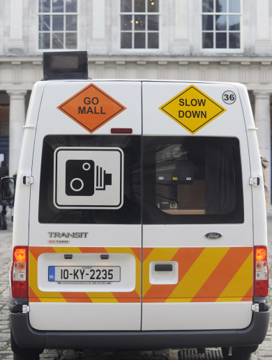 Gardaí aren't replacing their 'robot' speed vans - meaning fewer checks on Irish roads