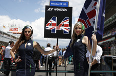Formula One follows darts' lead by getting rid of walk-on grid girls