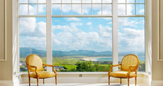 Enjoy breathtaking views to the Atlantic horizon from this Donegal hideaway