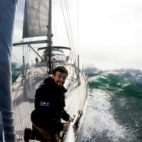 Dublin man attempting to sail around the world alone with no modern technology