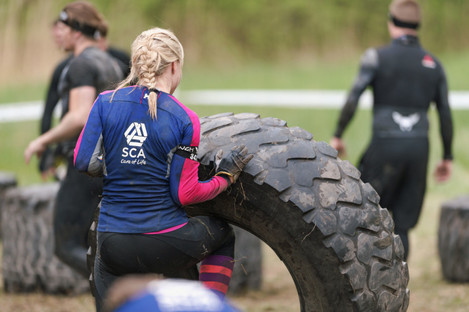 An obstacle course was one of the sporting events organised at Midland Regional Hospital for staff (file photo)