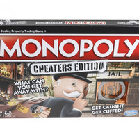 There's a new version of Monopoly that actually encourages cheating