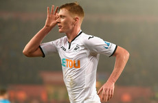 Swansea midfielder apologises for 'spying' porn website goal celebration