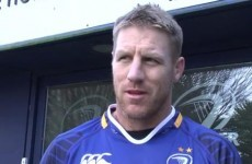 Thorn to make Leinster bow against Connacht