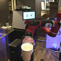 Would you buy a coffee from this robot? It just started working at Japan's 'strange cafe'