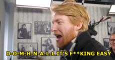 Domhnall Gleeson getting fed up with people spelling his name wrong is *extremely* relatable