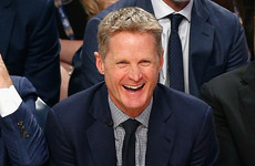 Steve Kerr blames new iPhone for since-deleted tweet about refs