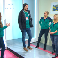 TV3 did a 'rugby fashion guide' this morning ahead of the match and people are taking the piss