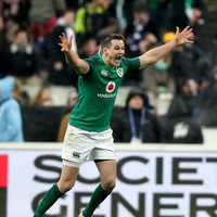 Watch: Relive Johnny Sexton's stunning drop-goal in Paris all over again