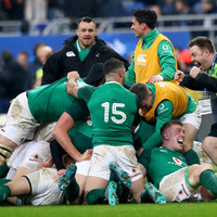 'I'm sure we'll get a bit of stick for it in the review, for celebrating like footballers!'