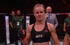 Valentina Shevchenko earns Performance of the Night with second-round submission at UFC Belem