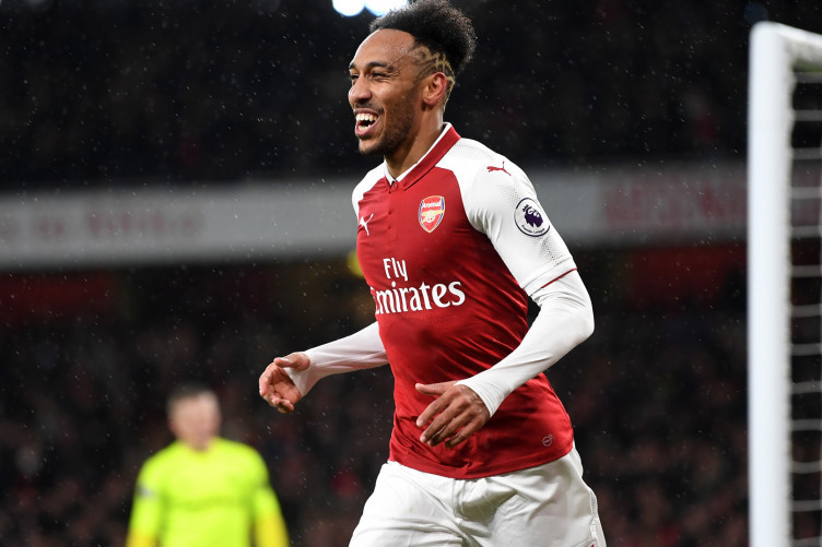 Arsenal forward Pierre-Emerick Aubameyang