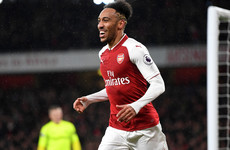 I'll only get better for Arsenal, Aubameyang warns after debut goal
