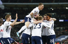 Extraordinary finish as late Kane penalty gets Tottenham out of jail against Liverpool