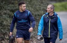 Byrne set for long-awaited Leinster return but still no sign of O'Brien or Ringrose
