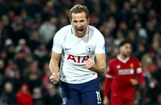 Harry Kane hits back at Virgil Van Dijk over dive accusation