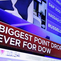What on earth is going on with the world's stock markets this morning?