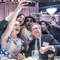 9 of the greatest behind-the-scenes shots from this year's Oscar luncheon
